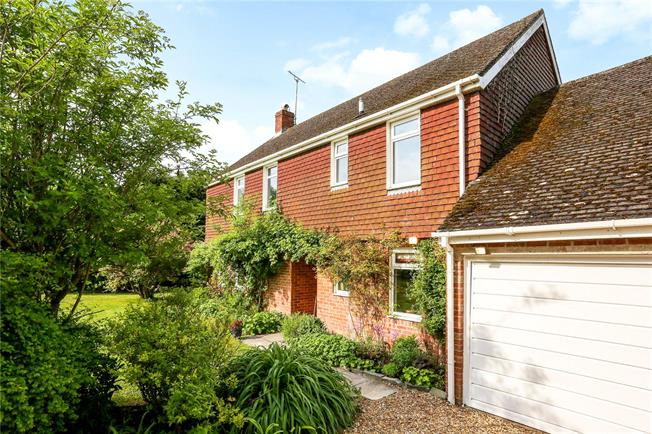 Guide Price £650,000, 4 Bedroom Detached House For Sale in Stanton St. Bernard, SN8