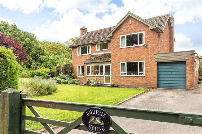 Guide Price £550,000, 4 Bedroom Detached House For Sale in Draycott Foliat, SN4