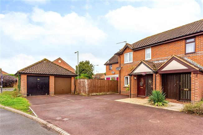 Guide Price £235,000, 3 Bedroom Semi Detached House For Sale in Wiltshire, SN9