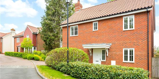 Guide Price £679,500, 4 Bedroom Detached House For Sale in Great Bedwyn, SN8