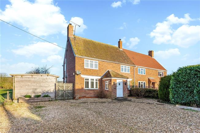 Guide Price £435,000, 3 Bedroom Semi Detached House For Sale in Marlborough, Wiltshire, SN8