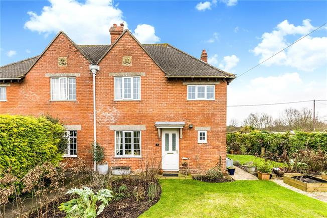 Asking Price £350,000, 3 Bedroom Semi Detached House For Sale in Marlborough, Wiltshire, SN8