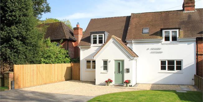 Guide Price £525,000, 4 Bedroom Semi Detached House For Sale in Chute Forest, SP11