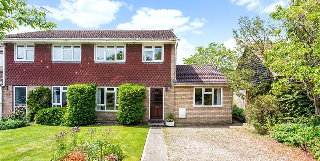 Offers in excess of £300,000, 3 Bedroom Semi Detached House For Sale in Milton Lilbourne, SN9