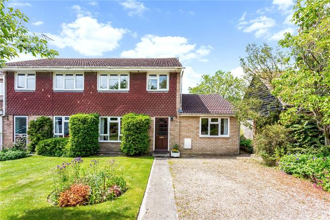 Offers in excess of £300,000, 3 Bedroom Semi Detached House For Sale in Pewsey, Wiltshire, SN9