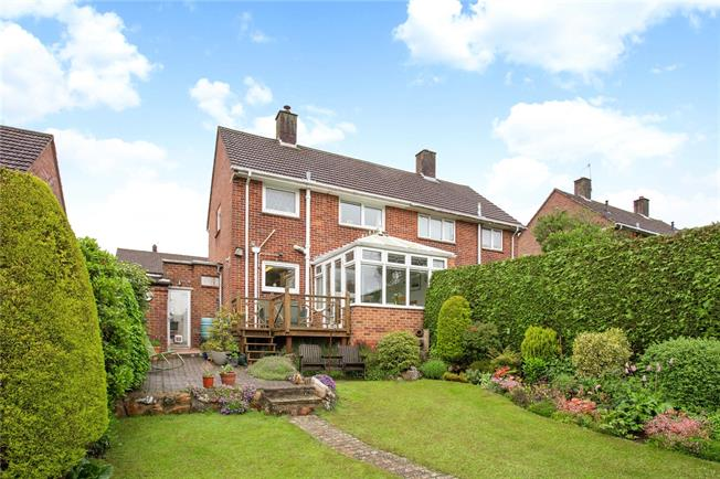 Guide Price £265,000, 2 Bedroom Semi Detached House For Sale in Wiltshire, SN8