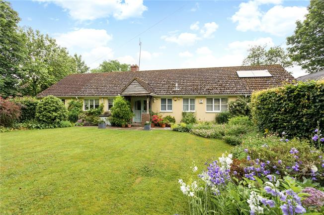 Offers in excess of £725,000, 4 Bedroom Bungalow For Sale in Wiltshire, SN9