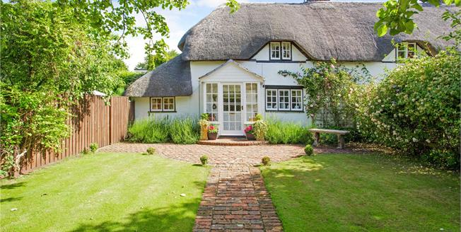 Guide Price £450,000, 2 Bedroom Semi Detached House For Sale in Wiltshire, SN9