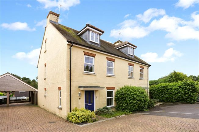 Asking Price £275,000, 3 Bedroom Semi Detached House For Sale in Collingbourne Ducis, SN8
