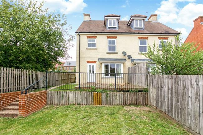 Guide Price £275,000, 3 Bedroom Semi Detached House For Sale in Collingbourne Ducis, SN8
