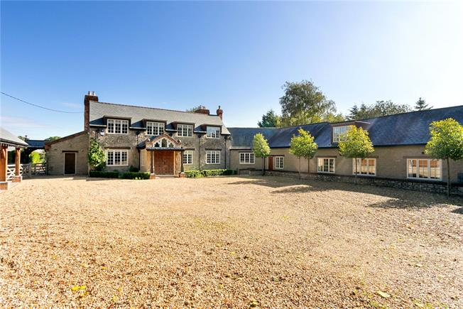 Guide Price £1,850,000, 6 Bedroom Detached House For Sale in Bourton, SN6