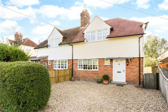 Guide Price £465,000, 3 Bedroom Semi Detached House For Sale in Marlborough, SN8