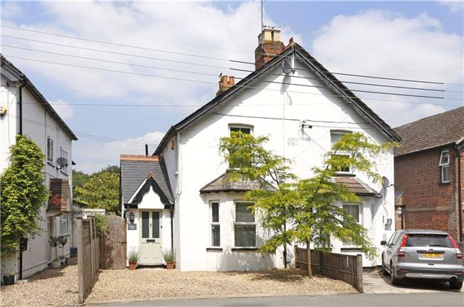 Guide Price £550,000, 3 Bedroom Semi Detached House For Sale in Bourne End, SL8