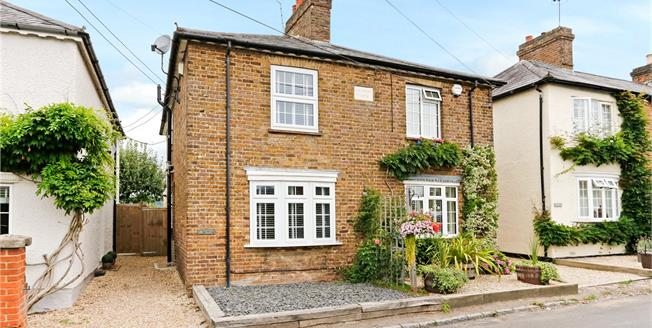 Guide Price £500,000, 2 Bedroom Semi Detached House For Sale in Bourne End, Buckinghamshi, SL8