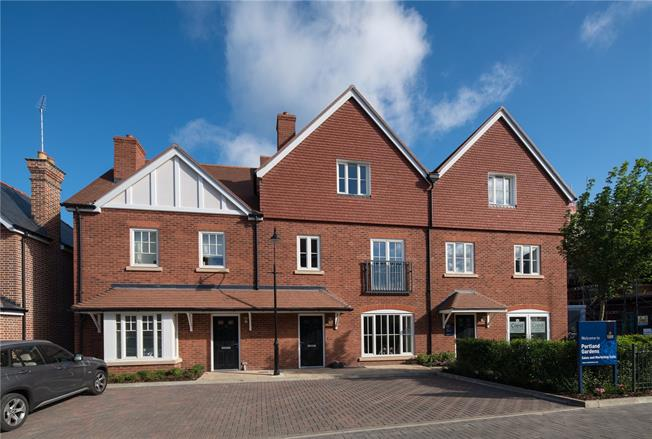 Guide Price £1,249,000, 4 Bedroom Terraced House For Sale in Marlow, Buckinghamshire, SL7