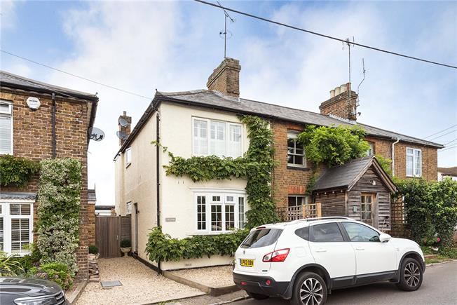 Guide Price £485,000, 2 Bedroom Terraced House For Sale in Bourne End, SL8