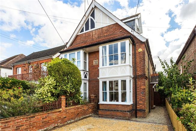 Guide Price £599,950, 4 Bedroom Semi Detached House For Sale in Bourne End, SL8