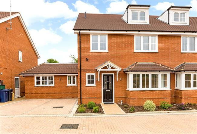 Asking Price £675,000, 5 Bedroom Semi Detached House For Sale in Buckinghamshire, HP12
