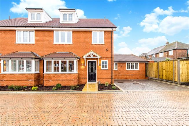 Asking Price £650,000, 5 Bedroom Semi Detached House For Sale in Buckinghamshire, HP12