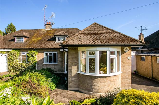Guide Price £535,000, 3 Bedroom Bungalow For Sale in Marlow, SL7