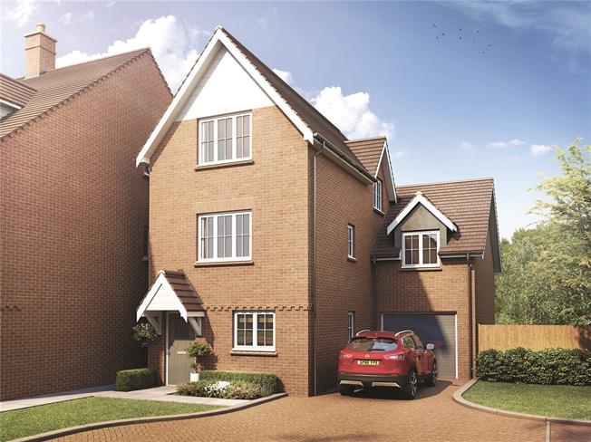 Asking Price £650,000, 4 Bedroom Detached House For Sale in Lane End, Buckinghamshire, HP14