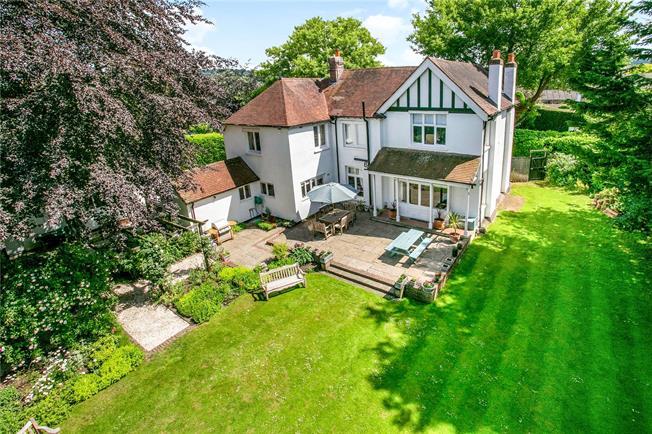 Guide Price £1,699,950, 5 Bedroom Detached House For Sale in Bourne End, Buckinghamshi, SL8