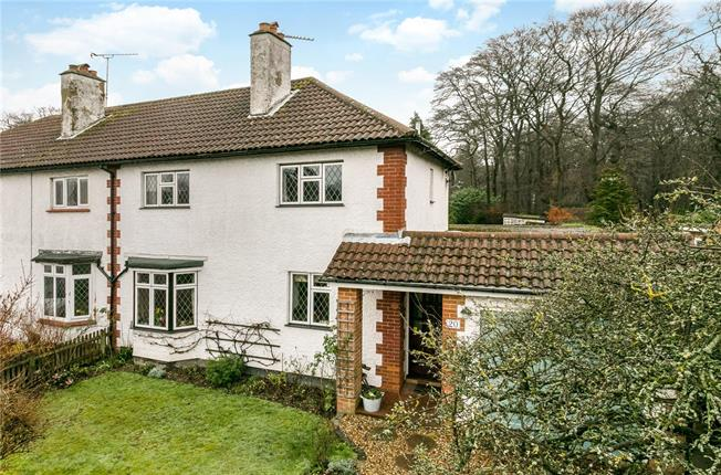 Guide Price £575,000, 3 Bedroom Semi Detached House For Sale in Flackwell Heath, HP10