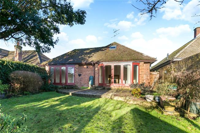 Guide Price £850,000, 4 Bedroom Bungalow For Sale in Buckinghamshire, SL7