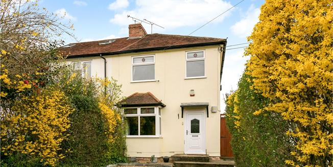 Guide Price £575,000, 3 Bedroom Semi Detached House For Sale in Marlow, SL7
