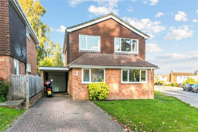 Guide Price £825,000, 4 Bedroom Detached House For Sale in Marlow, SL7