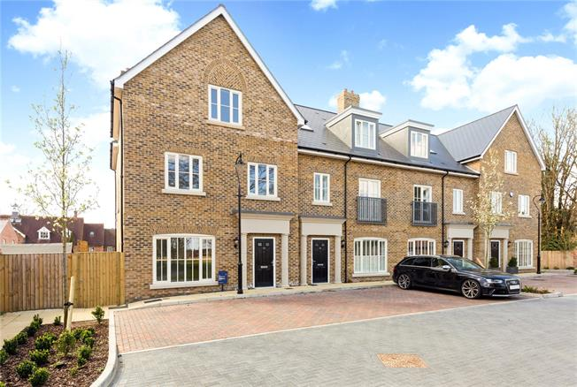 Guide Price £1,399,950, 4 Bedroom End of Terrace House For Sale in Buckinghamshire, SL7
