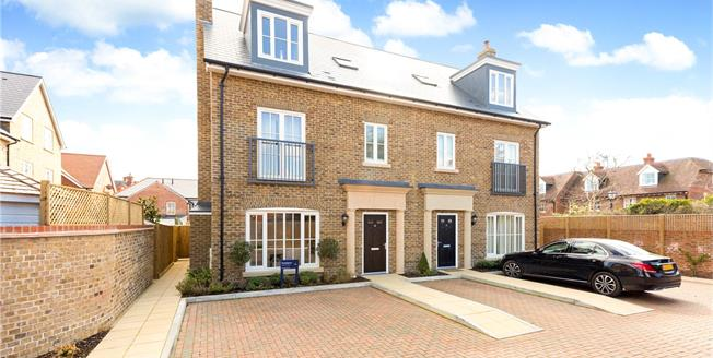 Guide Price £1,300,000, 4 Bedroom Semi Detached House For Sale in Buckinghamshire, SL7