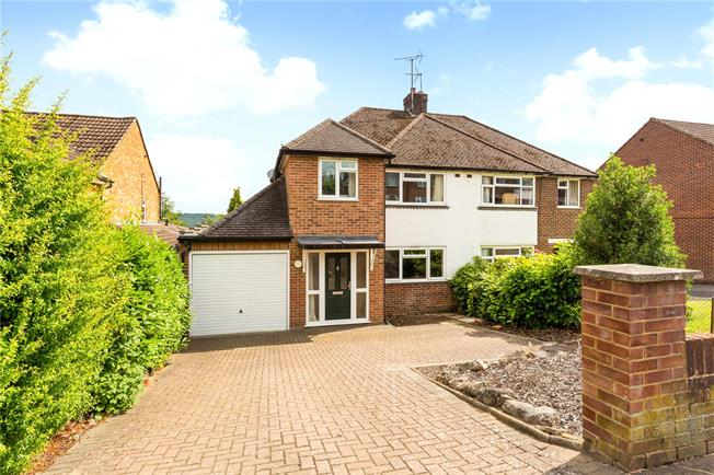 Guide Price £635,000, 3 Bedroom Semi Detached House For Sale in Buckinghamshire, SL7