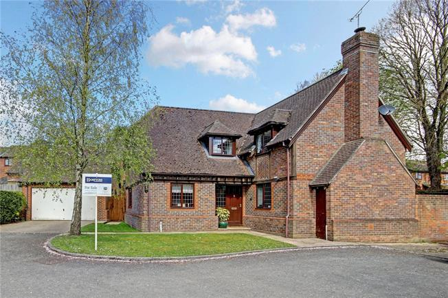 Guide Price £539,000, 4 Bedroom Detached House For Sale in Hungerford, Berkshire, RG17