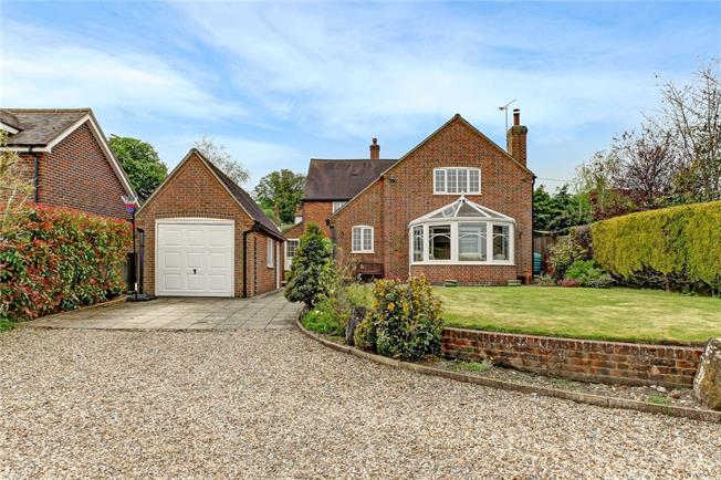 Guide Price £645,000, 4 Bedroom Detached House For Sale in East Ilsley, RG20
