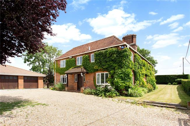 Offers in excess of £699,000, 4 Bedroom Detached House For Sale in Hermitage, RG18