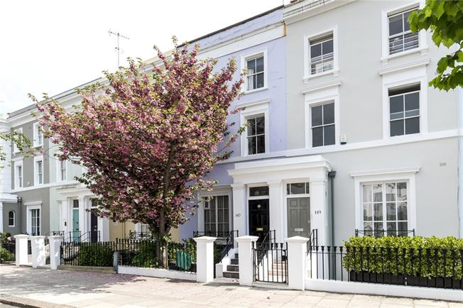 Asking Price £3,950,000, 5 Bedroom Terraced House For Sale in London, W11