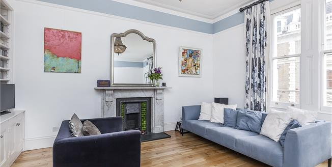 Guide Price £1,150,000, 1 Bedroom Flat For Sale in London, W2