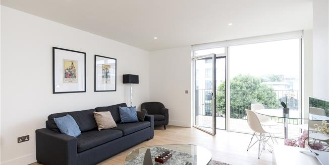 Guide Price £505,000, 1 Bedroom Flat For Sale in London, W10