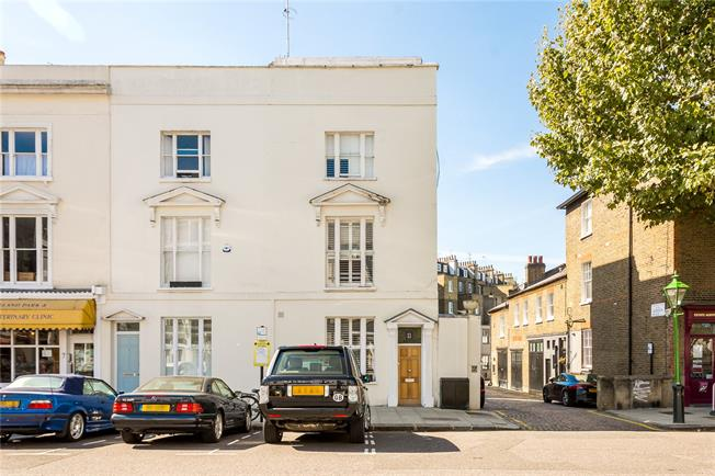 Offers in excess of £2,500,000, 3 Bedroom End of Terrace House For Sale in London, W11