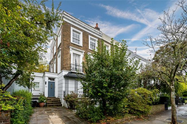 Asking Price £4,750,000, 4 Bedroom Semi Detached House For Sale in London, W2
