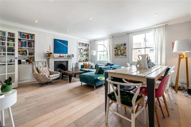 Asking Price £1,425,000, 3 Bedroom Flat For Sale in London, W11