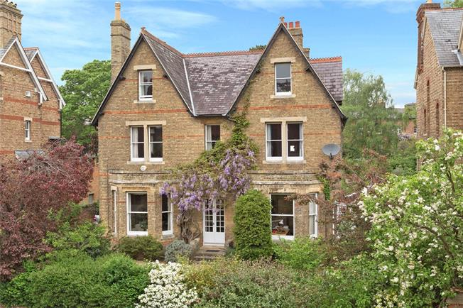 Guide Price £3,750,000, 6 Bedroom Detached House For Sale in Oxford, OX2