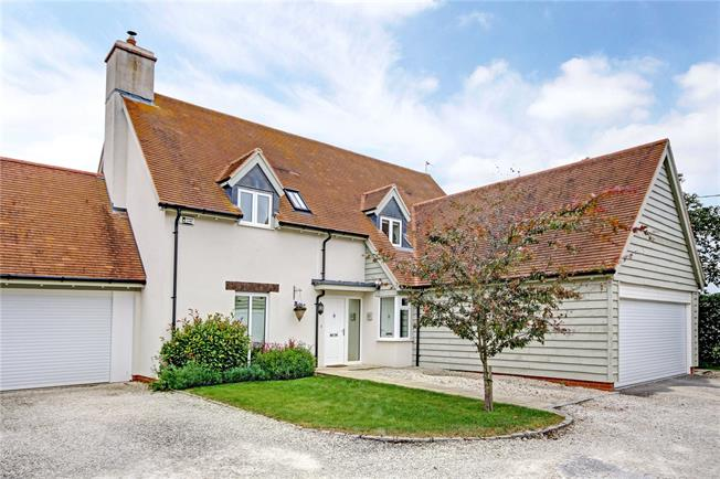 Guide Price £635,000, 4 Bedroom Detached House For Sale in Abingdon, OX13
