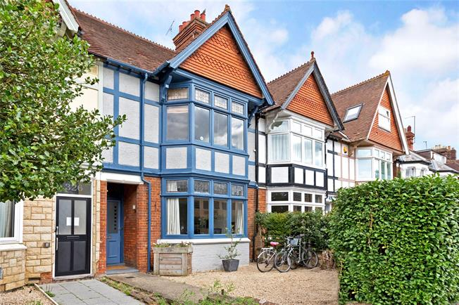 Offers in excess of £995,000, 4 Bedroom Terraced House For Sale in Oxford, OX2