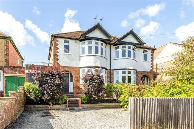 Offers in excess of £560,000, 3 Bedroom Semi Detached House For Sale in Oxford, OX2