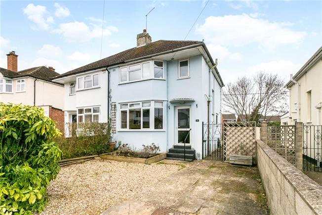 Offers in excess of £350,000, 3 Bedroom Semi Detached House For Sale in Oxfordshire, OX2