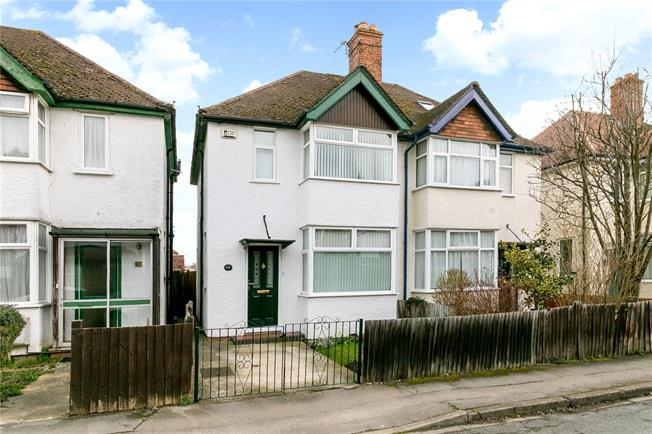 Offers in excess of £375,000, 3 Bedroom Semi Detached House For Sale in Oxford, OX1