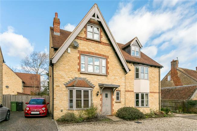 Guide Price £450,000, 4 Bedroom Semi Detached House For Sale in Southmoor, OX13