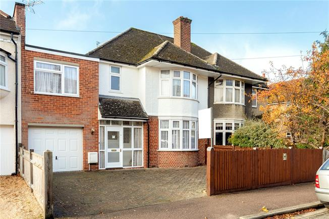 Offers in excess of £750,000, 4 Bedroom Semi Detached House For Sale in Headington, OX3